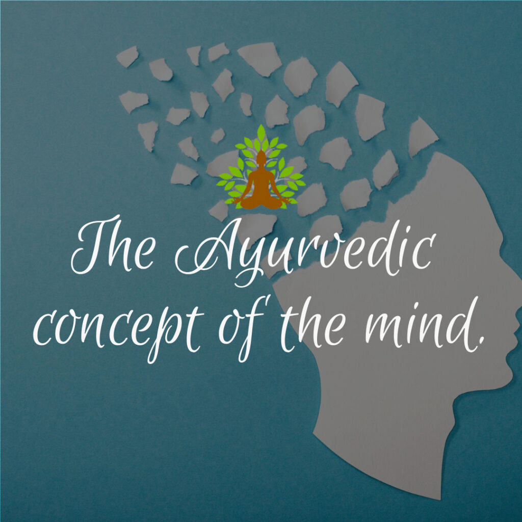 The Ayurvedic concept of the mind.